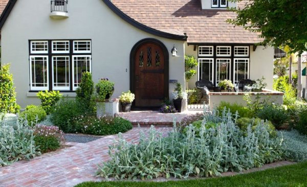 brick walkway ideas - landscaping