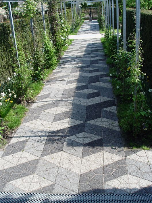paver design ideas - landscaping