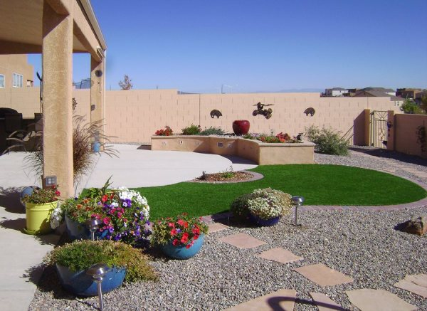artificial turf grass - landscaping