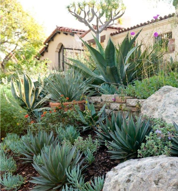 spanish garden design - landscaping