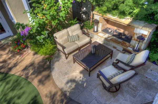small yard landscapes - landscaping