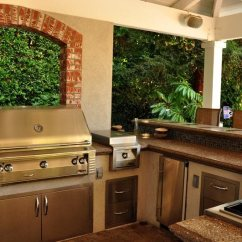 Backyard Kitchen Designs Cabinets At Ikea Outdoor Ideas Landscaping Network And Bar Swimming Pool The Green Scene Chatsworth Ca