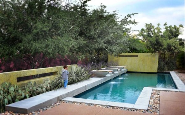 swimming pool design ideas - landscaping