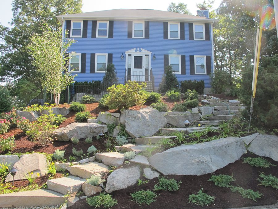 Front Yard Hill Landscaping Ideas Landscaping Network