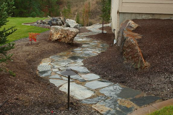 install flagstone - landscaping