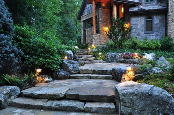 garden path & walkway ideas - landscaping