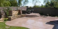 Concrete Patio Ideas For Backyard | www.pixshark.com ...