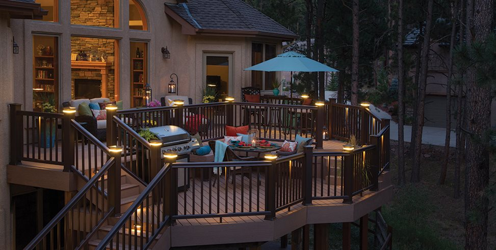 deck lighting ideas landscaping network