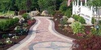 97+ Backyard Paver Walkway Ideas - Concrete Pavers In A ...