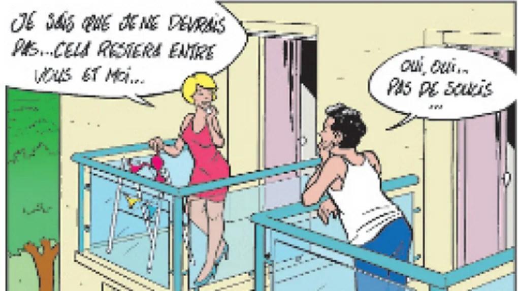 Le Linge Au Balcon Est Suspendu Aux Reglements Prives Et Publics