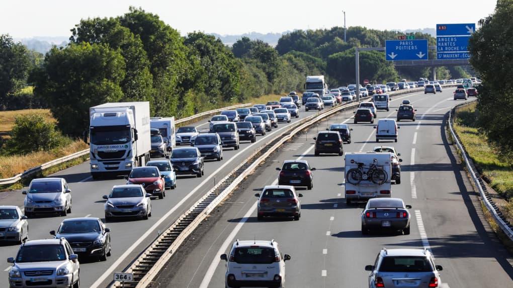 Un accident impliquant trois véhicules est survenu, dans la matinée du lundi 5 août 2019, sur l'autoroute A 10.