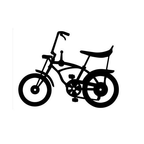 Bicycles Bike Vinyl Decal Sticker for Macbook Laptop