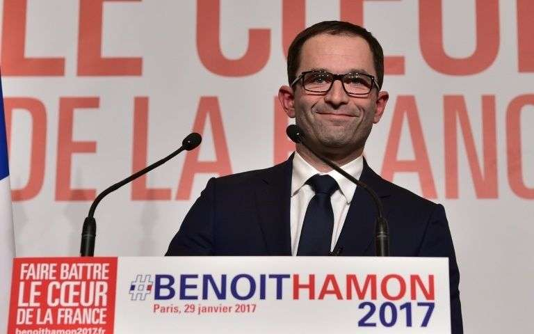 Image result for Hamon victoire