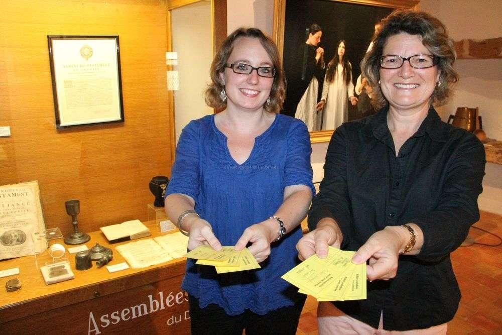 Charlotte Abadie et Patricia Casteits ont déjà constaté la solidarité de plusieurs visiteurs.