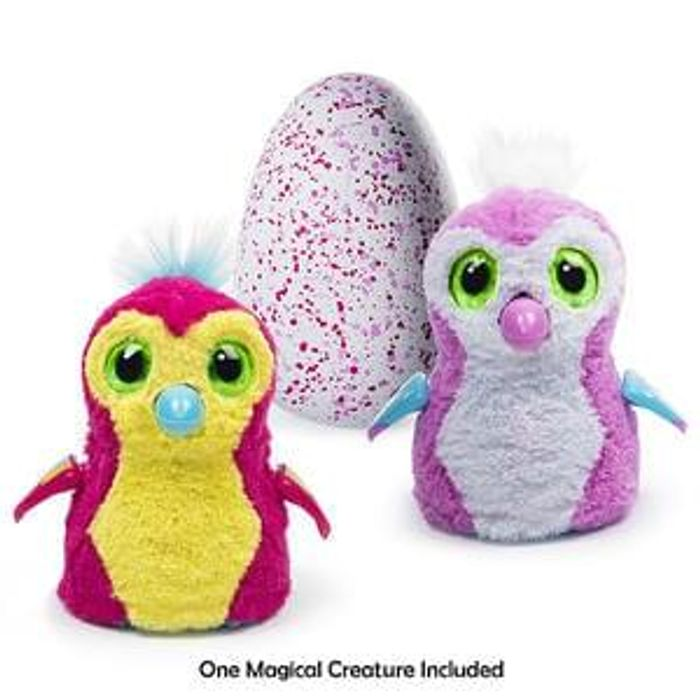 hatchimal eggs pink teal