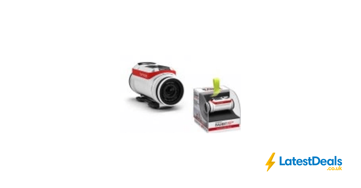 TomTom Bandit Premium Pack 4K Action Camera Save £180.99