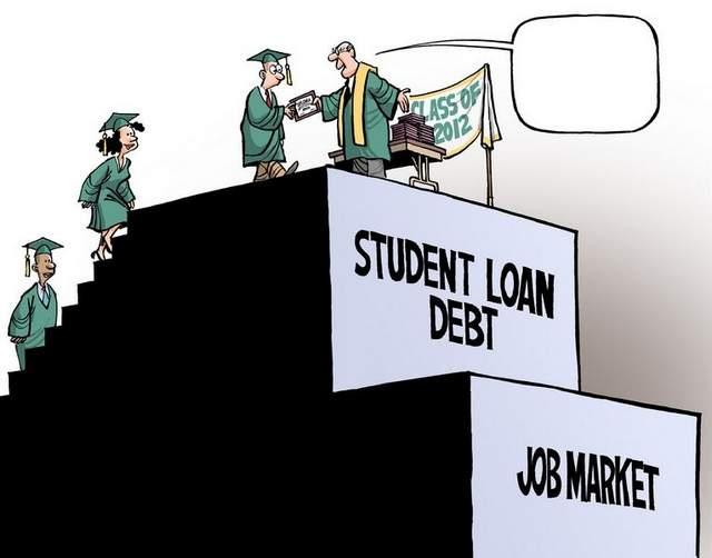 Image result for student loan debt images