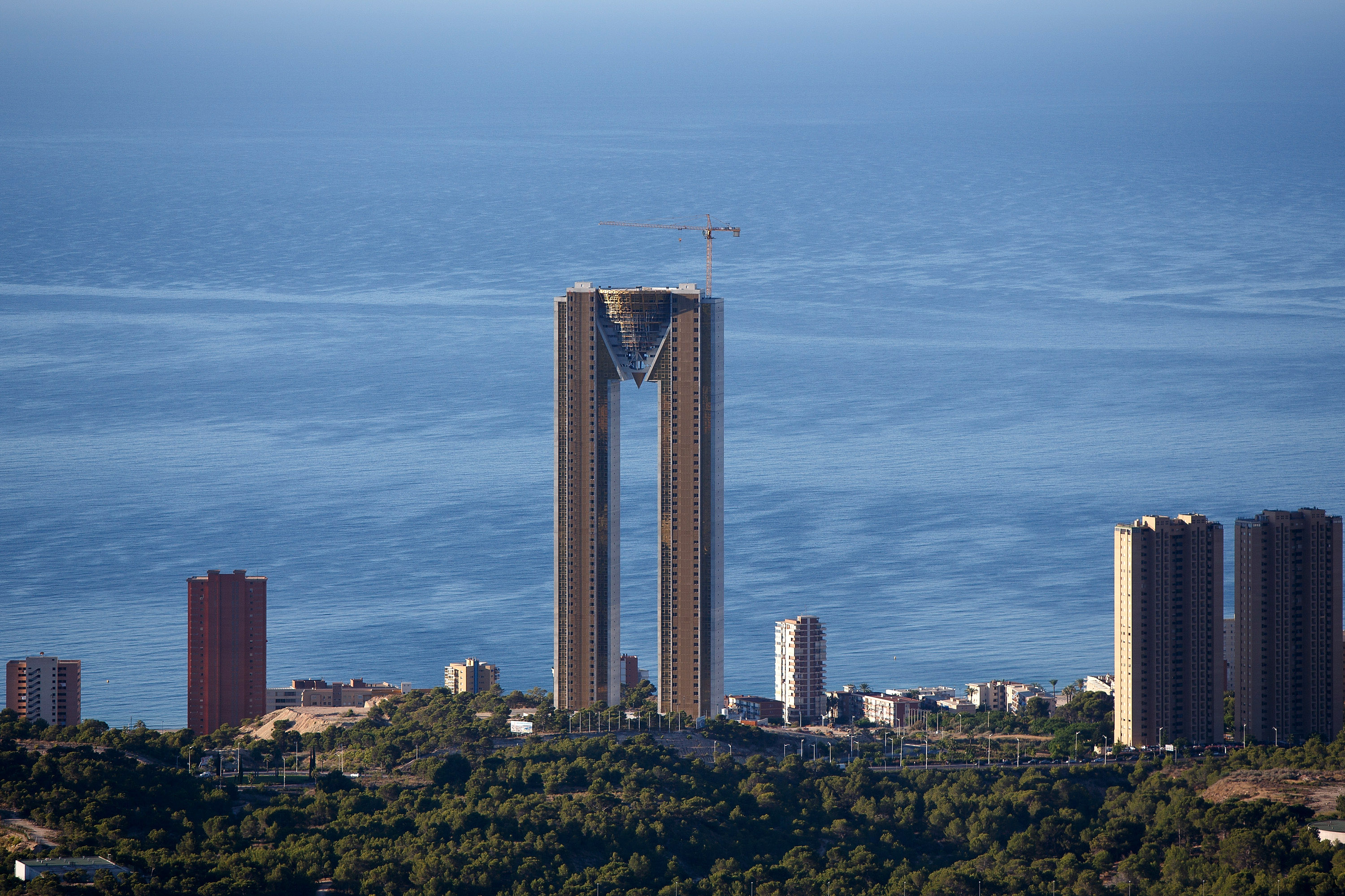 Spain Building With 47 Floors And No Elevator Spanish
