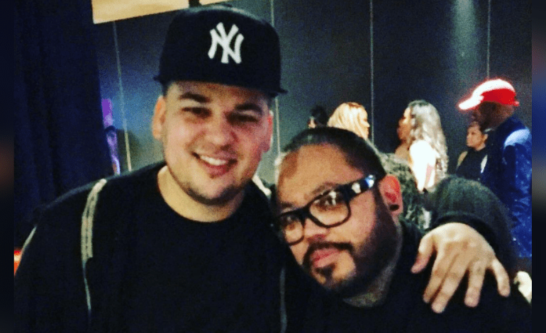 A B Quintanilla Hangs Out With Rob Kardashian What Was Selena S Brother Doing