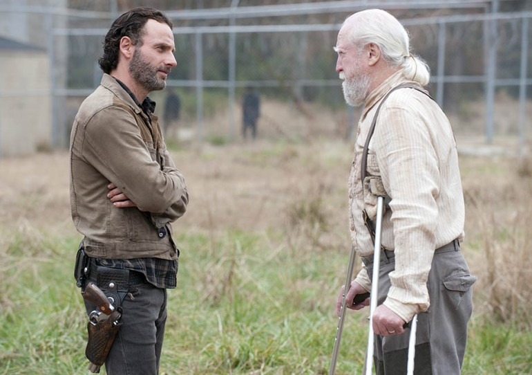 Rick and Hershel