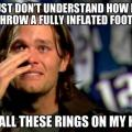 Meme screams redemption for tom brady he now has 4 super bowl rings
