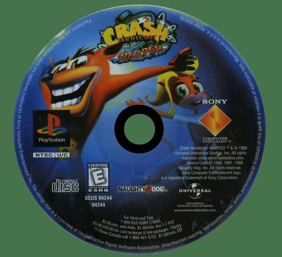 Crash Bandicoot Warped Details  LaunchBox Games Database