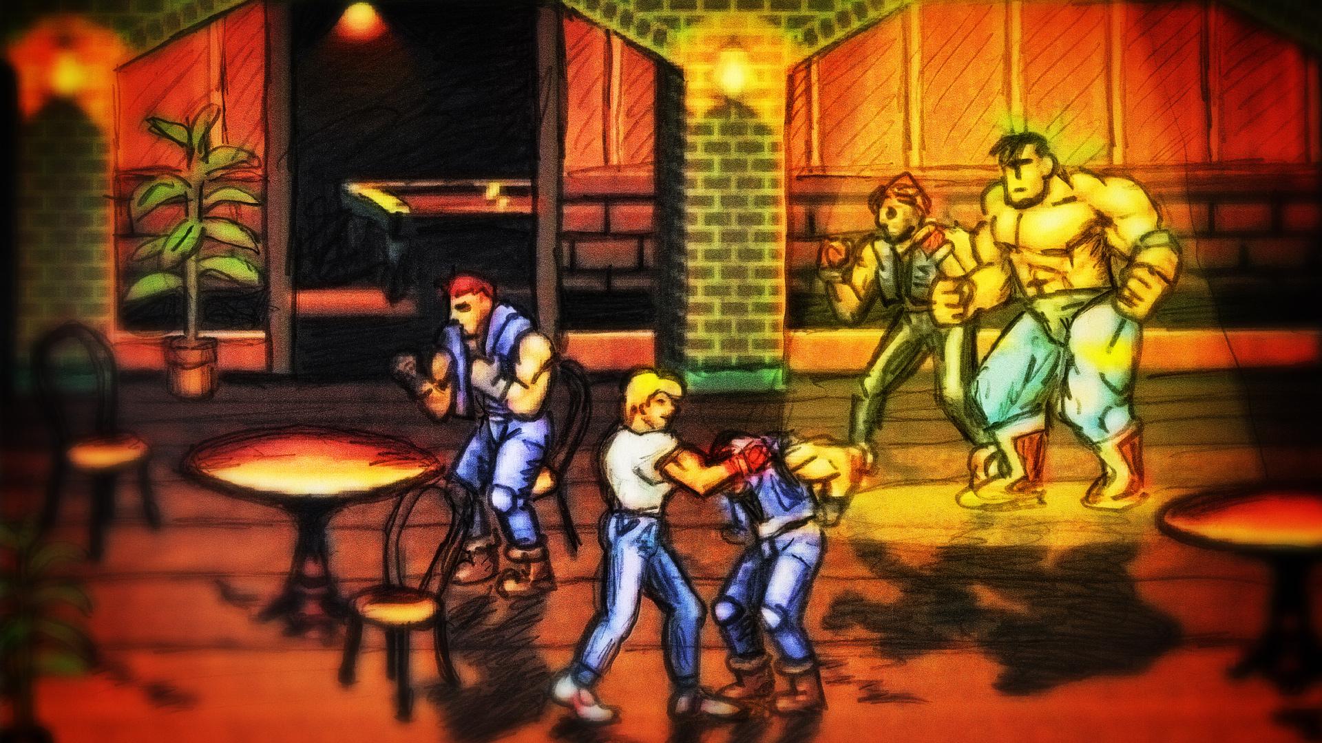 Lifelike 3d Wallpaper Streets Of Rage 3 Details Launchbox Games Database