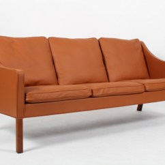 Borge Mogensen Sofa Model 2209 La Z Boy Grey Leather Three Seater Lauritz Com Tre Pers Laeder Click Here To See A Larger Picture
