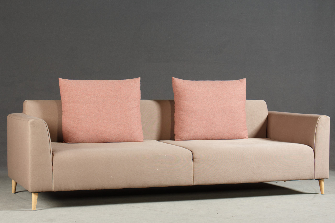 rolf benz freistil sofa no 180 grey leather sofas harveys a three seater lauritz com trepersoners click here to see larger picture