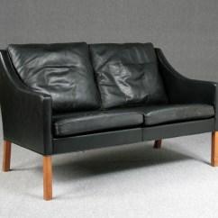 Borge Mogensen Sofa Model 2209 Charcoal Grey Bed Sofaer 2208 Og 2 Lauritz Com