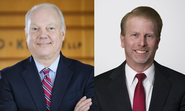 Michael Haglund, left, and Nathan Adams, right.