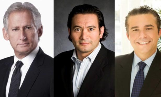 (l-r) Alan Loewinsohn, Lenny Vitullo, and James Bell.