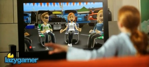 Avatar Kinect turns your Xbox Avatar into an online chatting marionette 2