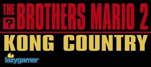 Brothers Mario 2: Kong Country 2