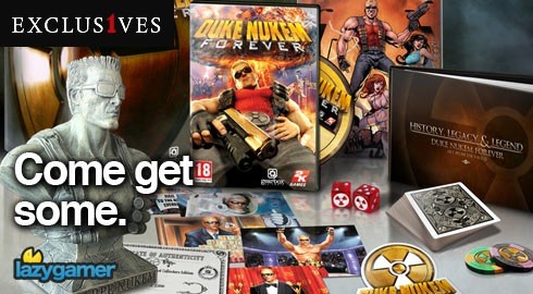 Your last chance to enter our Duke Nukem competition! 3