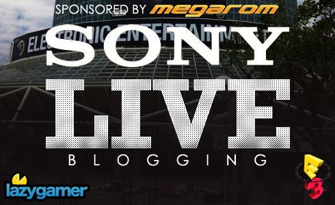 Sony E3 Press conference liveblog 2
