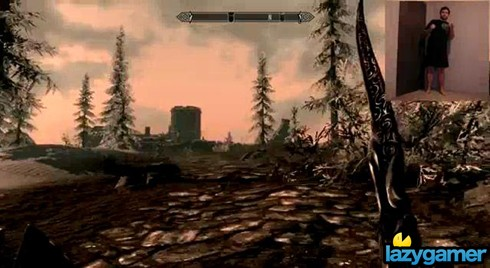 Anyone up for a game of Skyrim Kinect? 2