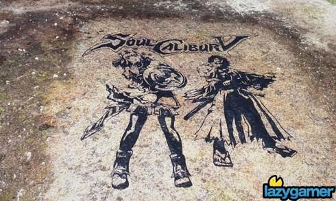 SoulCalibur V Engraved in Mountain for Eternity
