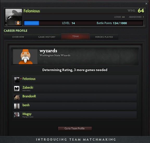 team_matchmaking