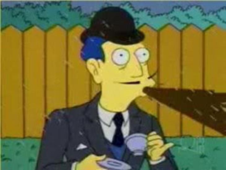 SimpsonsSpit-Take