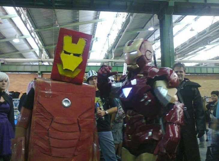 One day, I'll make a rad Iron Man suit, one day...