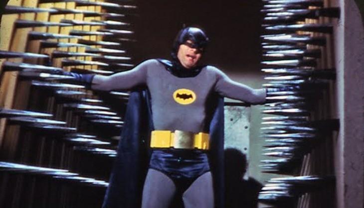 Batman trapped