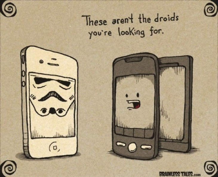 Not The Droids Your Looking For 610x497