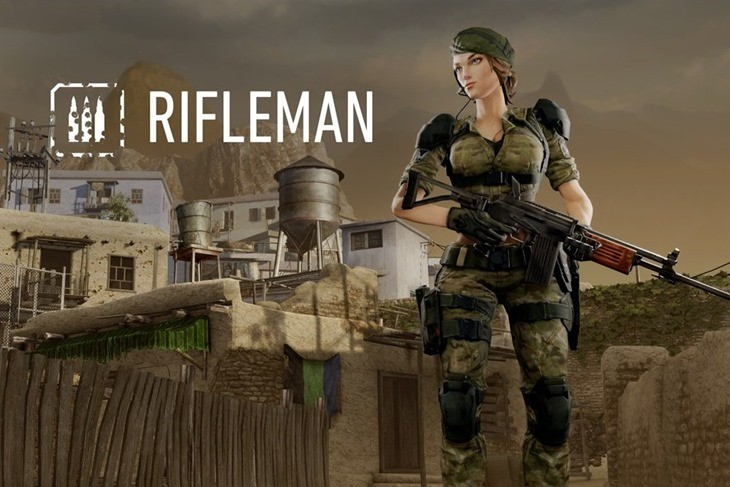 RiflemanFemal