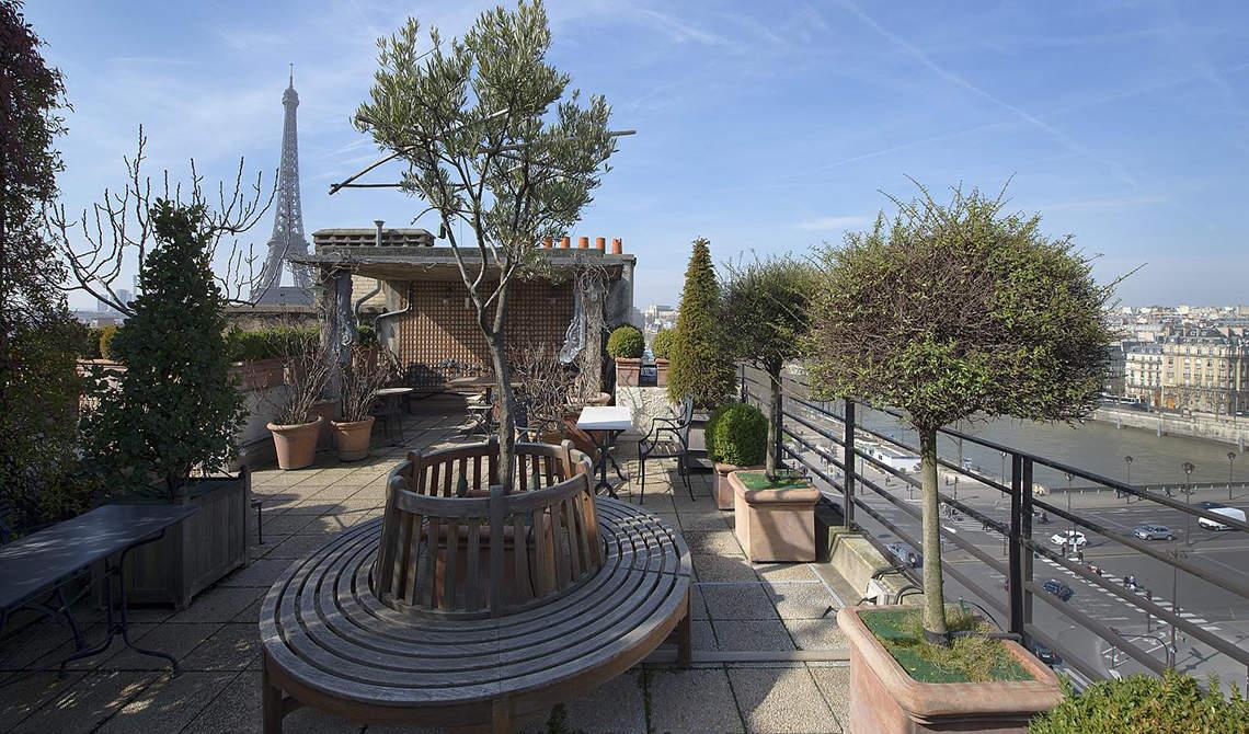 Penthouse with terrace for sale over Seina, 7th arrondissement, Paris - 3