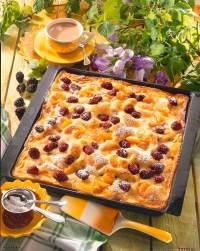 Brombeer-Schmand-Kuchen vom Blech Rezept   LECKER