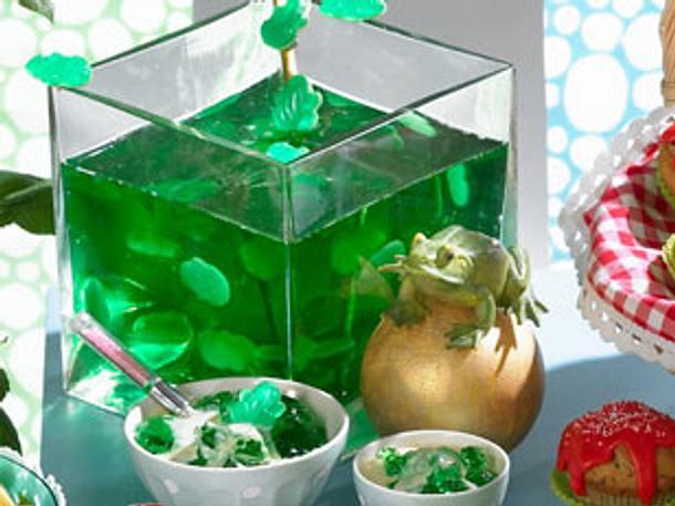 Froschknig Gtterspeise Rezept  LECKER
