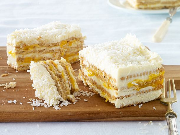 KokosMango Kuchen Rezept  LECKER