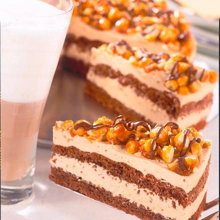 SchokoladenKaramellTorte Rezept  LECKER