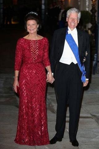 Margaretha e Nikolaus del Liechtenstein.